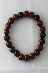Bracelet obsidienne pourpre 8mm