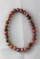 Bracelet rhodonite 6mm